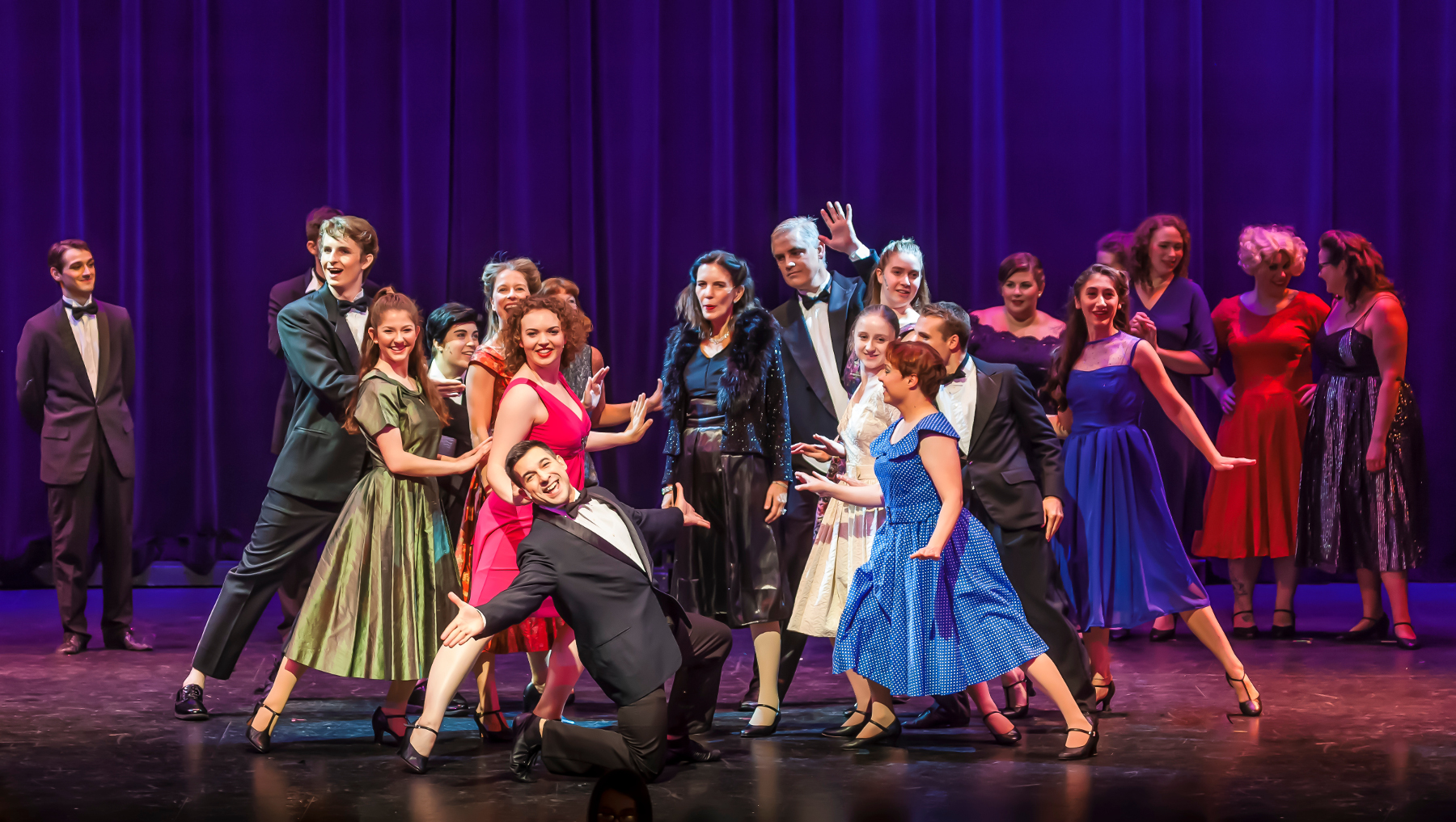 NCCT 2018 - Curtains dress rehearsal.