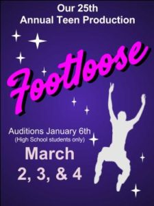 Footloose Auditions @ Lebanon Opera House